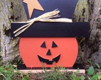 Jack O. Lantern, personalized pumpkin