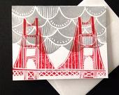 Golden Gate Fog Card