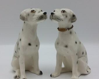 Dalmation Dogs Collectible Porcelain Dog Figurine Set
