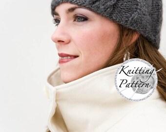 Women's Hat Knitting Pattern - The Frisco (pattern PDF)