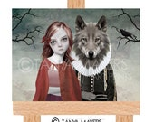Aceo Card - Fairytale - Red Riding Hood
