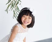 The Pearl Flower Girl Dress