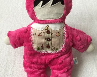 Inventory Sale! CUSTOM Bear Suited Lovie with personalization
