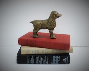 Vintage Brass Dog / Vintage Dog / Dog / Brass Dog / Vintage Brass / Dog Lover Gift / Brass Animal