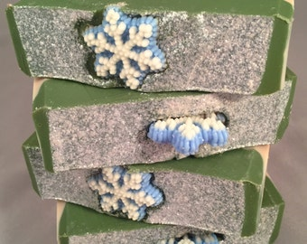 CLEARANCE - Jack Frost Cold Process Soap