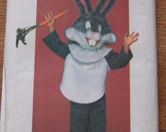 Vintage Butterick pattern 6348 Bugs Bunny Costume sz  S-M-L (2-12) Children uncut