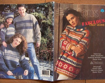1996 Knitting patterns Fabulous FAIR ISLES