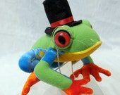 Dapper Red-eyed Tree Frog Plush Toy