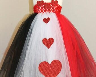 Dress Centerpiece   Alice in Wonderland Queen of Hearts Mad Hatter dress