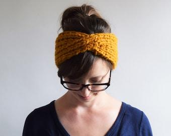 Headbands // Knit Headband // Turban Headband // Chunky Knit Headband // Chunky Knits // Knit Turban Headband