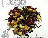 Frigg Devotional Tea - loose leaf green tea, apple, rose, jasmine, cloves, lavender, Frigga, queen, Asgard, Aesir, garden, apple pie, love