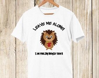 Hedgehog T-shirt-Feeling Hedgie