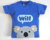 Organic Baby Koala T-Shirt, Baby Shower Gift