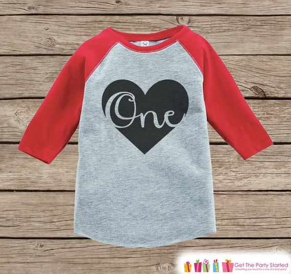 Kids One Birthday Shirt