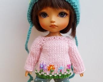 GARDEN sweater for Pukifee Lati Yellow Mui Chan Enyo Irrealdoll Person Secretdoll Middie Blythe