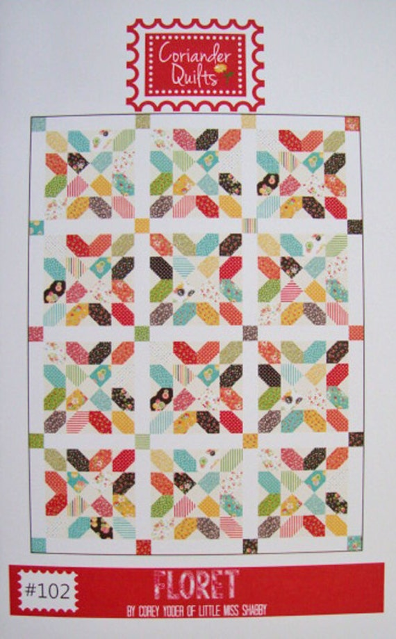 Floret Quilt Pattern Corey Yoder For Coriander Quilts