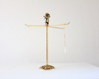 rose bud jewelry stand