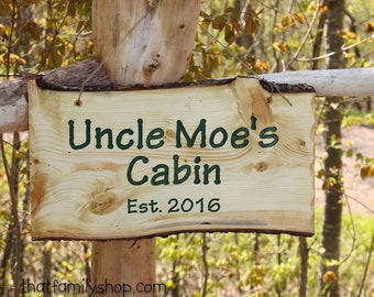 Family Established Sign, Rustic Wood Wall-Hanging with Names, Personalized Cabin Decor, 5th-Year Wedding Anniversary Custom Welcome