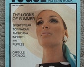 Vogue Pattern Book June/July 1968 88 pages