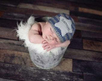 Baby Name Hat Personalized Newborn Hat Newborn Name Hat Personalized Baby Hat Monogram Baby Hat Take home hat new baby hat trendy baby hat