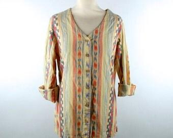 Batik Lightweight Cotton Top