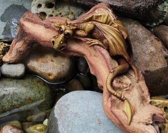 OOAK  handmade dragon sculpture figurine
