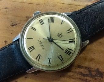 Vintage watch Raketa, mechanical watch, men watch, mens watch
