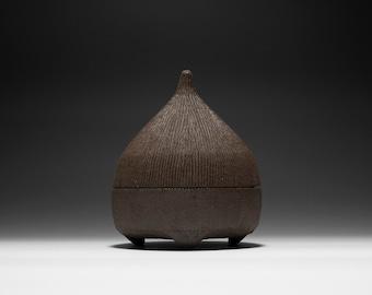 Handmade Ceramic Hobbit Box | Gnome Box | Stash Box 16-001