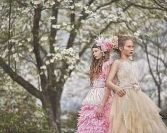 Beautiful Memoir... A Stunning Couture Flower Girl Gown