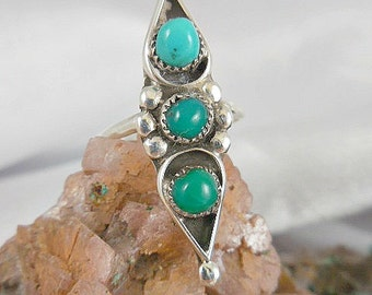 Turquoise Sterling SilverRing