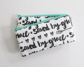 pencil pouch -- saved by grace