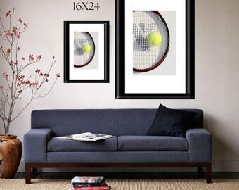 Tennis Photograph Sports Wall Decor Fine Art Print Teen Room Wall Decor
