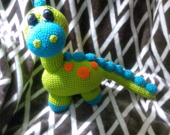 Crochet Dionsau Brontosurus any colors you want
