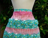 Egg Collecting Apron Egg Gathering Apron - Spring is in the Air