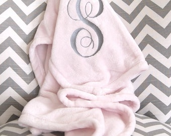 Gift for christening etsy personalized baby blanket plush blanket pink baby blanket monogram blanket new baby negle Image collections