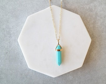 Britney Necklace - Turquoise