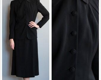 1940s Suit // Forstmann LenCraft Suit // vintage 40s suit