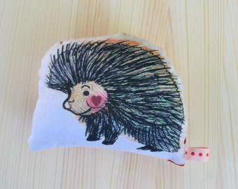 Porcupine Love Plush Rattle