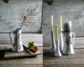 Vintage Pitcher / Vase / Candle Holder