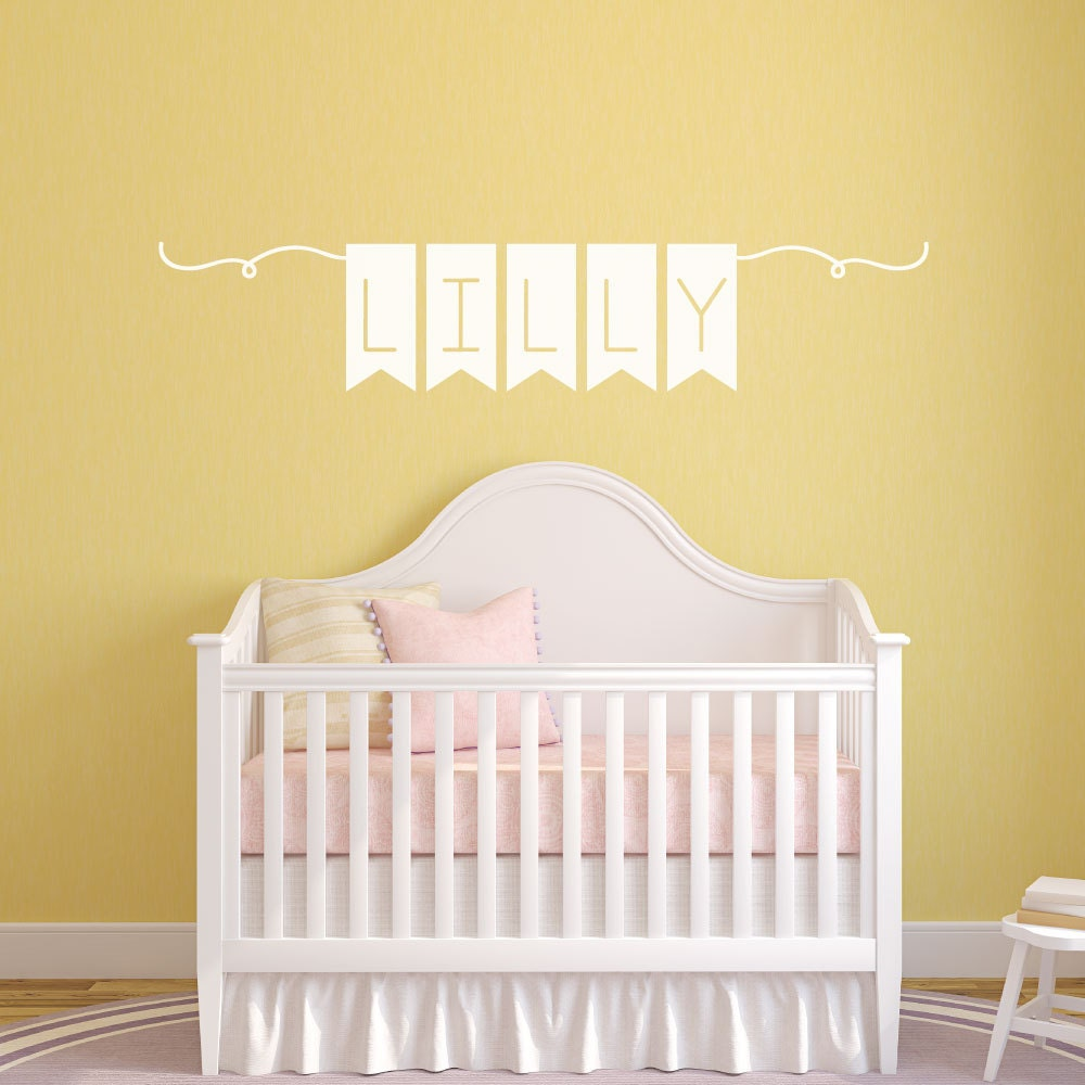 Kids Name Wall Decals - Elitflat