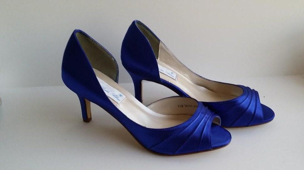 Sapphire Blue Wedding Shoes Sapphire Blue Bridal Shoes