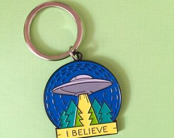 Keychain - UFO I BELIEVE