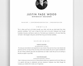 resume with photo resume template mac cv design resume template modern word
