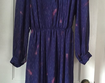 Vintage Robilyse Paris Sheer Dress size Large/XL