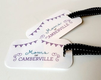 Moms of Camberville Stroller tag