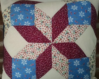 Vintage Quilting Square - Pillow Cover