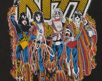 Original KISS 1977 tour T SHIRT