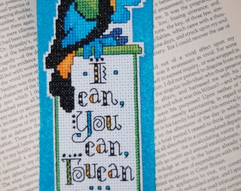 Toucan Cross Stitch Bookmark