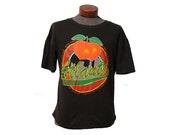 Vintage Atlanta Georgia Landmarks T-shirt Size Large, Georgia Peach