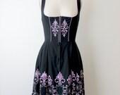1950s Authentic German Dirndl Dress